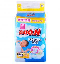 Подгузники Goon XXS (до 3 кг) 36 шт.