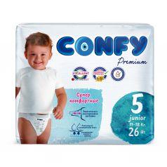 Подгузники CONFY Premium Junior () шт.