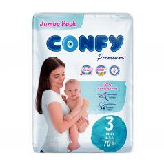 Подгузники CONFY Premium Midi () шт.