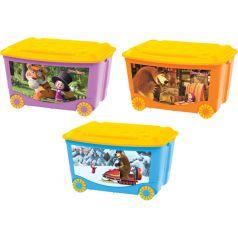 Ящик для игрушек Бытпласт Детский, цвет: 90100118131