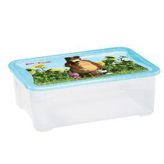 Ящик для игрушек Бытпласт Маша и Медведь
