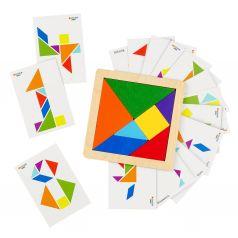 Рамка-вкладыш Raduga Kids Деревянные игрушки Танграм