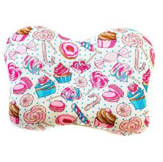 Подушка анатомическая Моей крохе Пироженки