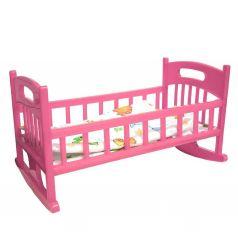 Мебель для кукол Кроватка с постелькой ГринПласт