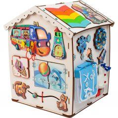 Бизиборд Jolly Kids Домик со светом Большой «Времена года»
