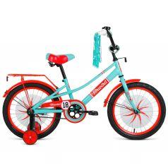 Двухколесный велосипед Forward Azure 18 2021