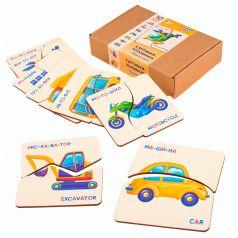 Пазл Raduga Kids Картинки-Половинки. Транспорт
