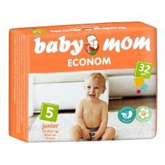 Подгузники BABY MOM ECONOM дышащие () шт.