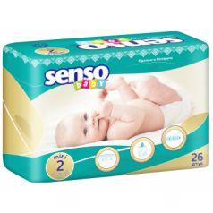 Подгузники Senso Baby (3-6 кг) шт.