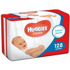 Влажные салфетки Huggies Classic детские, 128 шт