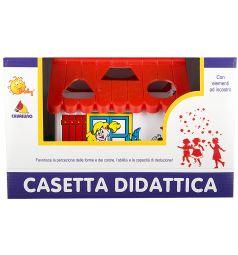 Игровой домик Полесье красная крыша в коробке
