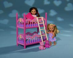 Кукла Simba Еви (2 шт.), с кроваткой