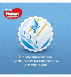 Подгузники Huggies Ultra Comfort 3 для мальчиков (5-9 кг) 21 шт.