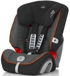 Автокресло Britax Romer Evolva 123 Plus, цвет: black marble