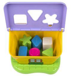 Полесье Садовый домик в сетке желто-фиолетовый