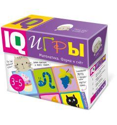 Книга Айрис Сундучок с IQ играми. Математика. Форма и счет 3-5 лет, Умные игры в сундучке 3+
