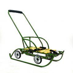 Санимобиль Русские игрушки 7883, цвет: зеленый