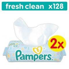 Влажные салфетки Pampers Baby Fresh Clean Детские, 128 шт