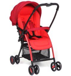 Прогулочная коляска Corol S-6, цвет: красный