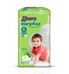 Подгузники Libero Everyday (7-18 кг) 20 шт.