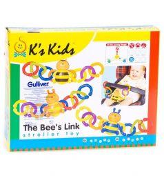 Погремушка на коляску K's Kids Пчелка, 10 см