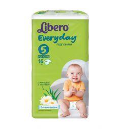 Подгузники Libero Everyday для девочек (11-25 кг) 16 шт.