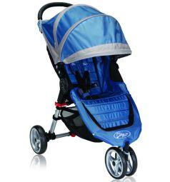 Прогулочная коляска Baby Jogger City Mini Single, цвет: голубой/серый