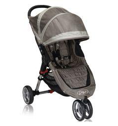 Прогулочная коляска Baby Jogger City Mini Single, цвет: песочный/серый