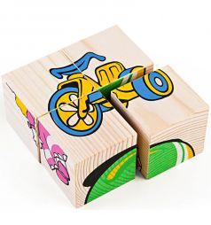 Кубики Томик Игрушки (4 штуки)