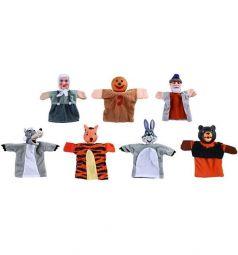 Кукольный театр Жирафики Колобок 7 кукол