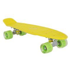 Скейтборд Leader Kids S-2206E, цвет: желтый