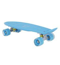 Скейтборд Leader Kids S-2206E, цвет: голубой