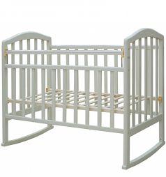 Кровать-качалка Антел Алита 2, цвет: белый