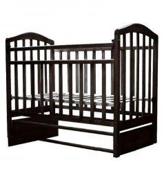 Кровать-качалка Антел, цвет: венге