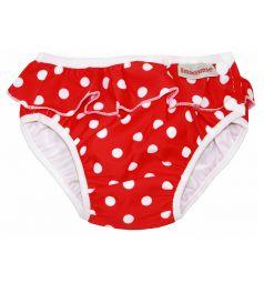 Трусики ImseVimse Red dots frill для девочек (11-14 кг) 1 шт.