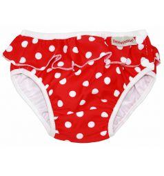 Трусики ImseVimse Red dots frill для девочек (7-10 кг) 1 шт.