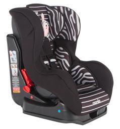 Автокресло Nania Cosmo SP Animals, цвет: черно-серые полоски/рисунок зебра