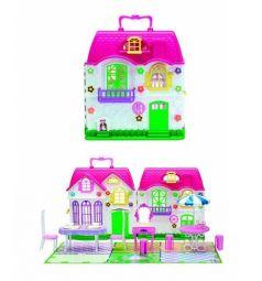 Дом для кукол 1Toy Красотка с мебелью