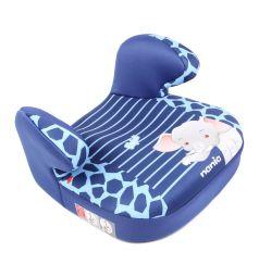 Автокресло-бустер Nania Dream Animals, цвет: синий/голубой/слон