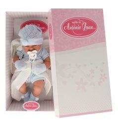 Кукла-младенец Juan Antonio Тони в голубом