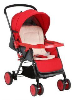 Прогулочная коляска Corol S-7, цвет: красный