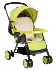 Прогулочная коляска Corol S-7, цвет: зеленый
