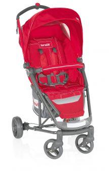 Прогулочная коляска Brevi Ginger, цвет: красный/серый