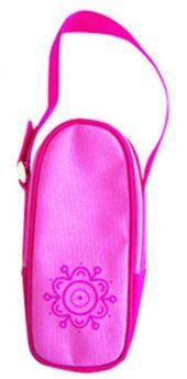 Сумочка-термоконтейнер Пома для бутылочки для бутылочки, цвет: розовый