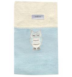 Womar Одеяло Owl 75х100, цвет: голубой