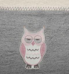 Womar Одеяло Owl 75х100, цвет: серый
