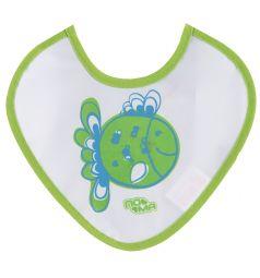 Слюнявчик Пома, цвет: зеленый