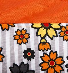 Коляска для кукол Wakart Моника оранжевая