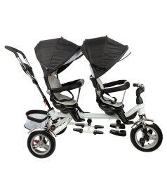 Детский трехколесный велосипед Capella Twin Trike 360, цвет: graphite