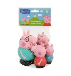 Игровой набор Peppa Pig Семья Пеппы 4 фигурки 8 см